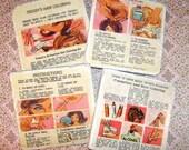 Marble coasters - Tressie & Cricket dolls