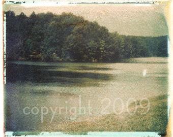 Polaroid transfer - Beaver Creek