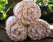 Knitted Cotton Washcloths
