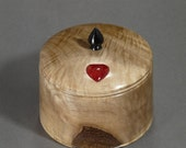 Coral Heart Jewelry Box (BX70)