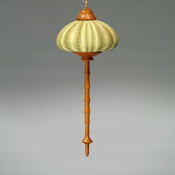 Ornament- Green Sea Urchin & Maple (OR34)
