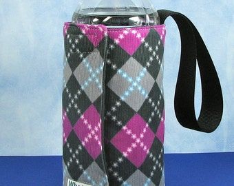 Whats Up Your Sleeve Fabric Water Sleeve Pink Argyle