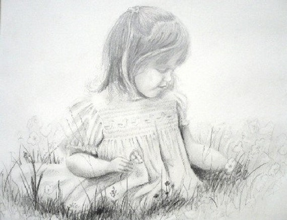 BEAUTIFUL PORTRAIT DRAWN FROM YOUR PHOTO