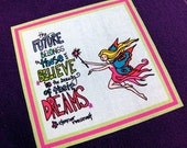 The Future Belongs to Those Who Dream Fairy Journal