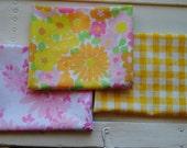 "Spring Vintage Fabric - 3 Fat Quarters (18""x 22"")"