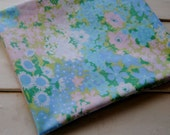 1 Yard Vintage Fabric - Blue