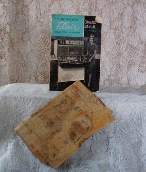 vintage 1961 frigidaire flair electric ranges owners manual. Black Bedroom Furniture Sets. Home Design Ideas