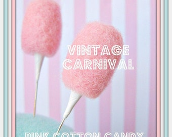 Vintage Inspired Cotton Candy Pin Topper
