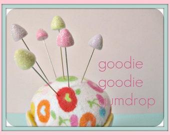 Goodie Goodie Gumdrop Pin Topper