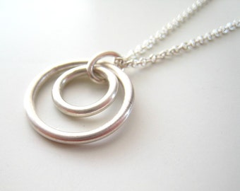 SALE Jump Ring Pendant