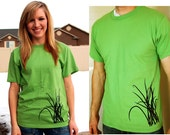 LIMITED Grass Men or Women T-Shirt in Grass Green and Black