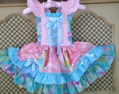 DRESS--Fairytale Princess Dress --Cinderella-- for girls sizes 6m -6yrs