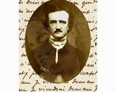 Poe's Muse - ACEO - Digital Art