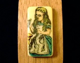 Alice with Bottle Brooch PIn SALE