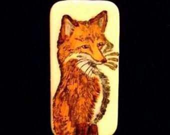 Foxy Brooch Pin