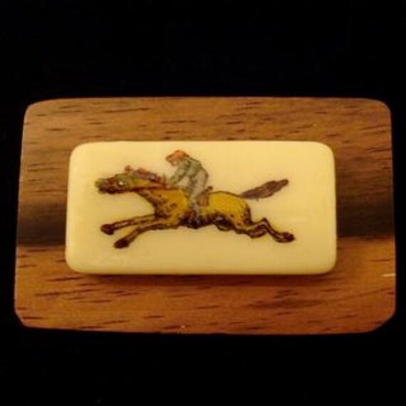 Racehorse Brooch Pin SALE