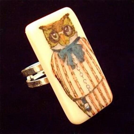Sir Owl Ring