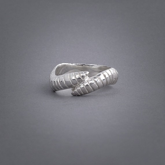 Worm Ring- Sterling silver