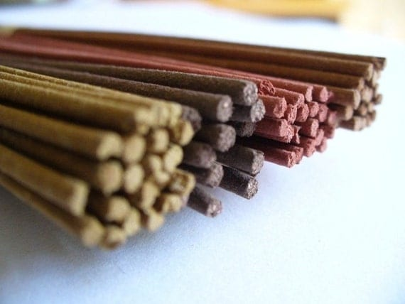 Herb Garden Series - DENGON (MESSAGE) Natural Incense Sticks - (Spikenard, cassia,herbs)