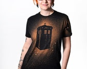 British Police Box Black Shirt