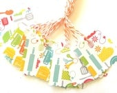 Kitchen Gadget Tags - Set of 4 Gift Tags