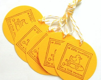 Baby Duck Gift Tags - Set of 5 Tags