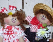 Sweetie Pie Valentines Twig doll e pattern