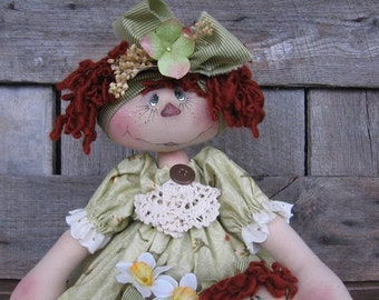 Pickled Faced Raggedy Annie e pattern