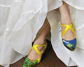 Wedding Colored shoes for Bride,Bridesmaids painted dyed and personalized custom designs