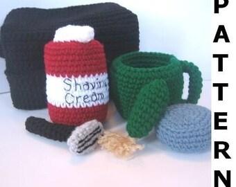 Shaving Kit Crochet Pattern