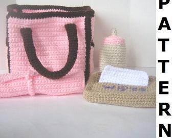 Diaper Bag Crochet Pattern