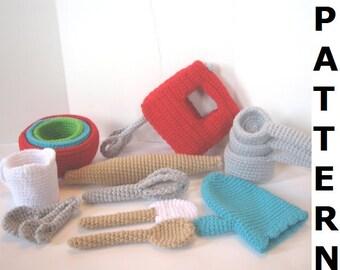 Baking Utensils Crochet Pattern
