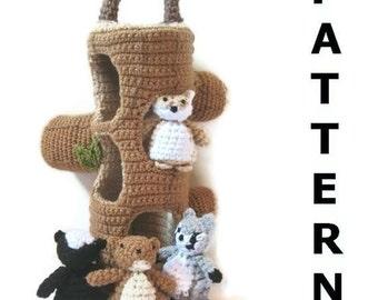 Woodland Creatures Crochet Pattern