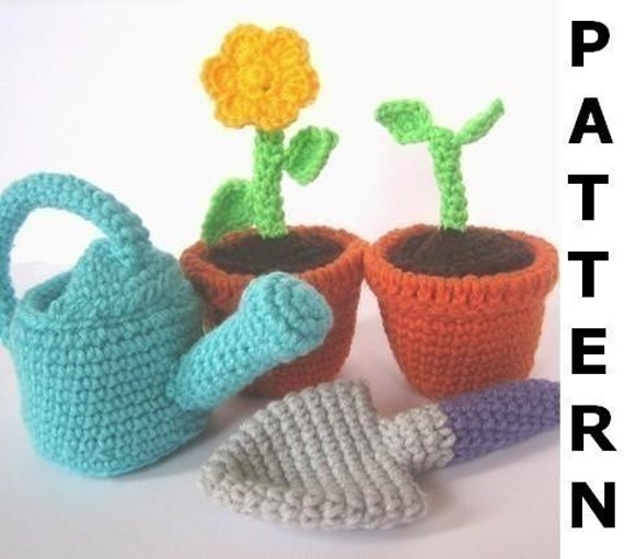 Gardening Play Set Crochet Pattern