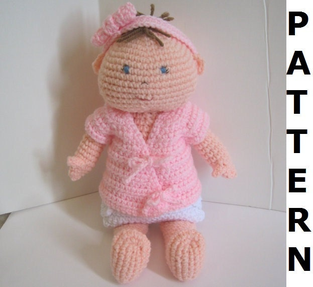 Crochet Patterns Etsy : Baby Doll Crochet Pattern by CrochetNPlayDesigns on Etsy