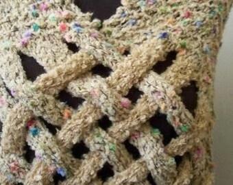 Spotted shawl-bolero.Free shipping..