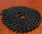 Black-Tone Ball Chain Necklace for charms