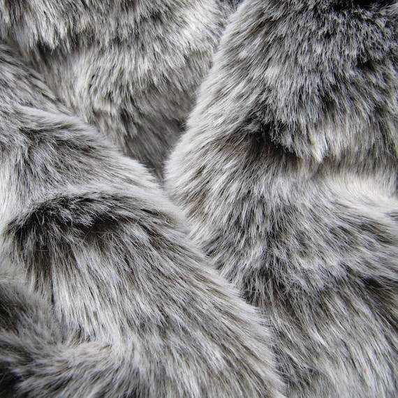 Winter Wolf Dark Chocolate 25mm Pile Synthetic Faux By