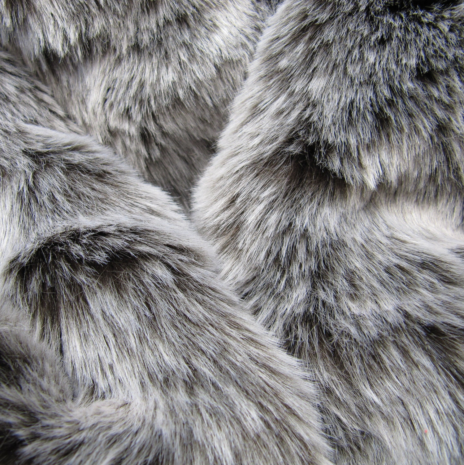 Winter Wolf Dark Chocolate 25mm Pile Synthetic Faux Fur
