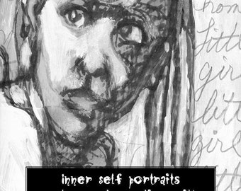Inner Self Portraits Visual Journaling workbook, a classic from Artfest 2005 booklet, by Juliana Coles