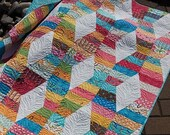 Hugs and Kisses Quilt Pattern by Jaybird Quilts - Baby to Queen size options