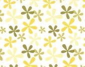 Central Park Fabric by Kate Spain for Moda Fabrics, Cherry Hill in Yellow-Fat Quarter