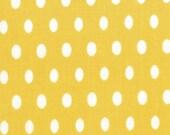 Half Moon Modern fabric by Moda, Modern Dot  in Sunshine-1 Yard