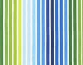 Remix Fabric by Ann Kelle for Robert Kaufman, Remix Stripe in Royal-Fat Quarter