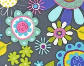 SALE Fly Away fabric by Amy Schimler for Robert Kaufman, Fly Away Main in Sunset-1 Yard