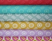 La Dee Da Fabric by Erin McMorris for Free Spirit- Fat Quarter Bundle- 6 total