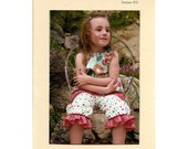 SALE Butterfly Kisses, Gracee Tunic and Bloomers Sewing Pattern