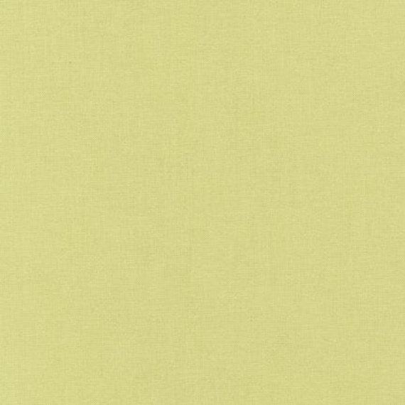 Kona Cotton Designer Solid fabric by Robert Kaufman -1 Yard of Zucchini