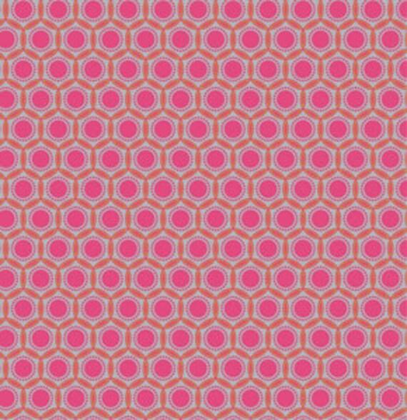 LAST ONE SALE Heirloom Fabric by Joel Dewberry for Free Spirit, Opal in Blush-1 Yard or by the yard