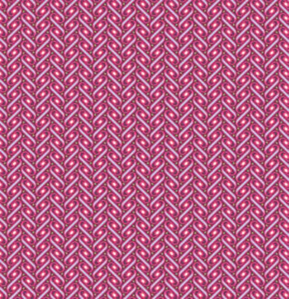 SALE Heirloom Fabric by Joel Dewberry for Free Spirit, Ribbon Lattice in Fuchsia-1 Yard or by the yard